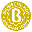 Belgische Hop Gold label